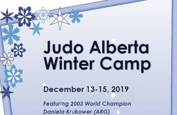 Judo Alberta Winter Camp (December 13-15, 2019)