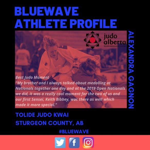 BlueWave Athlete Profile: Alexandra Gagnon
