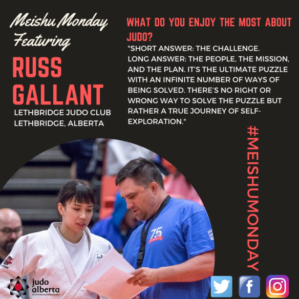 Meishu Monday Featuring Russ Gallant
