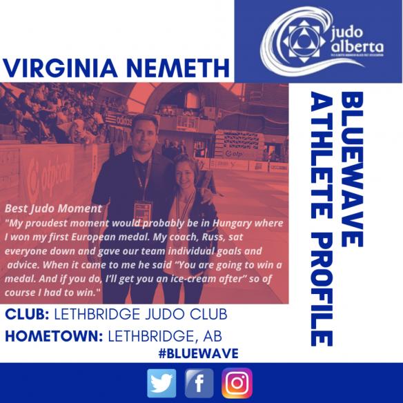 Bluewave Wednesday Athlete Profile: Virginia Nemeth