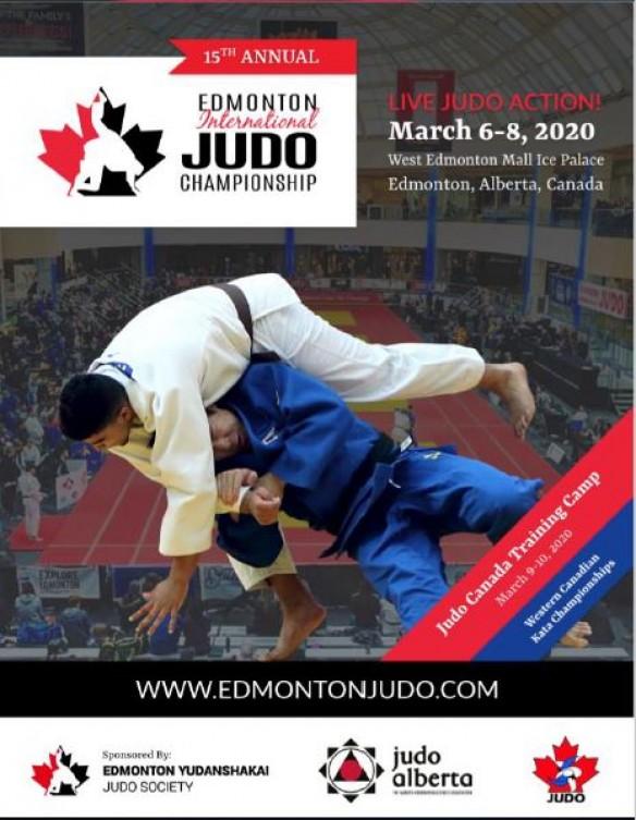 2020 Edmonton International Judo Championship