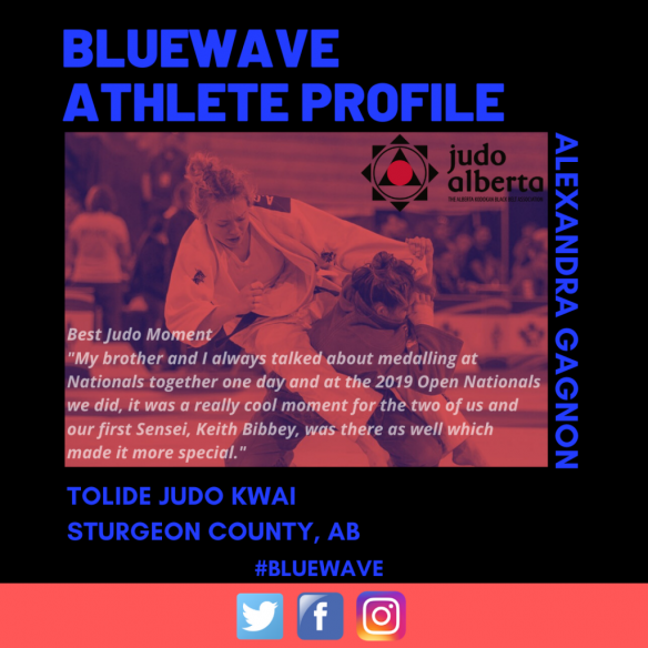 BlueWave Athlete Profile: Alexandra Gagnon