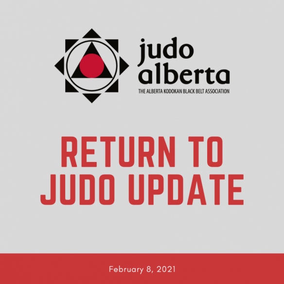 Return to Judo Guidelines (Updated February 8, 2021)