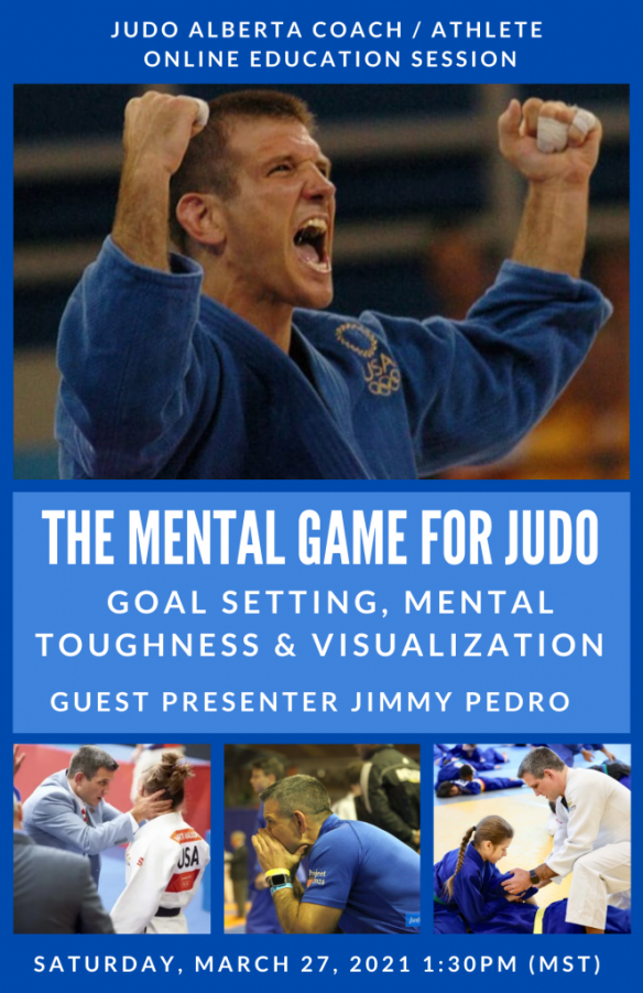 The Mental Game for Judo featuring Jimmy Pedro