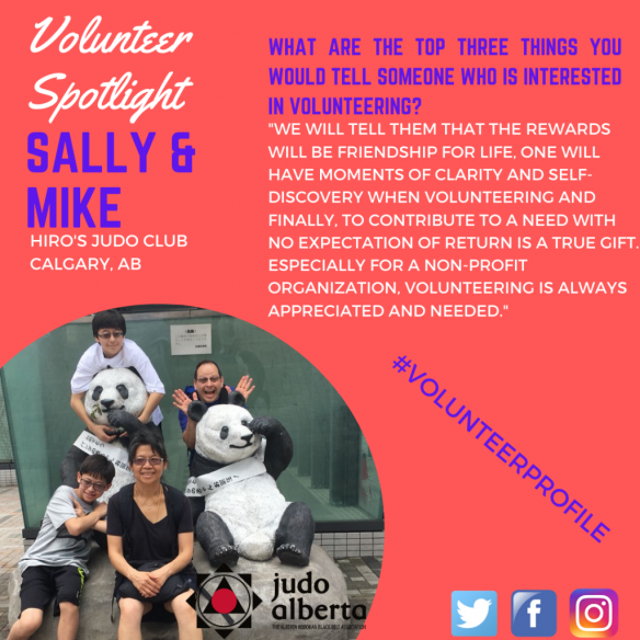 Volunteer Spotlight featuring Sally & Mike