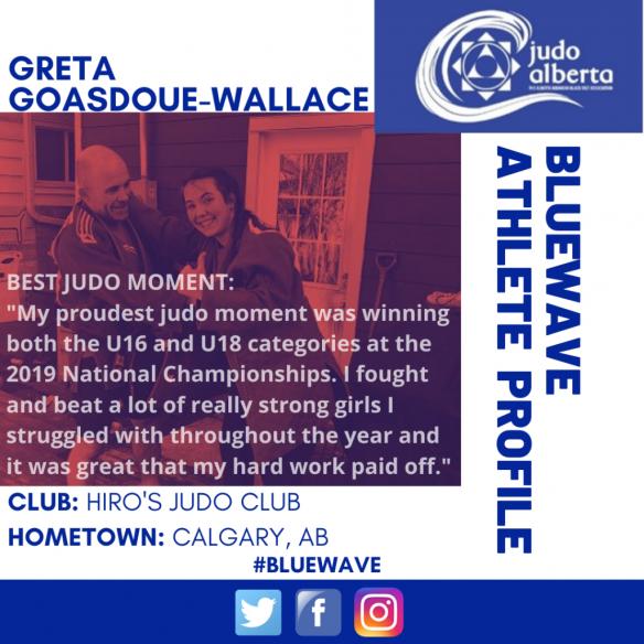 Blue Wave Athlete Profile: Greta Goasdoue-Wallace